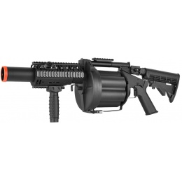 ICS MGL LB Full Metal RAS 6-Round Revolving Airsoft Grenade Launcher
