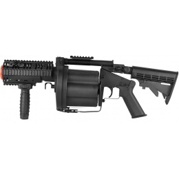 ICS MGL SB Full Metal RAS Airsoft 6-Round Revolving Grenade Launcher