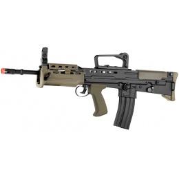 ICS L85 A2 Carbine Full Metal Bullpup Airsoft AEG Rifle - BLACK / OD