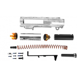 ICS Complete Reinforced M120 Upper Gearbox Set - For M4 AEGs