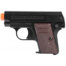 Licensed COLT .25 Compact Spring Airsoft Pistol - Black