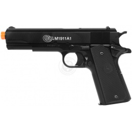 Cybergun Airsoft Licensed Colt M1911 Metal Slide Spring Pistol