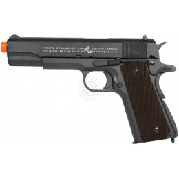 KWC Licensed COLT M1911 WWII Full Metal Airsoft CO2 Blowback Pistol