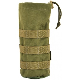 Flyye Industries MOLLE Water Bottle Pouch w/ Drawstring - RANGER GREEN