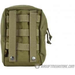 Flyye Industries MOLLE Vertical Accessory Pouch - RANGER GREEN