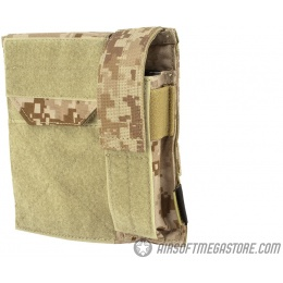 Flyye Industries MOLLE Admin Panel w/ Pistol Mag Pouch - AOR1