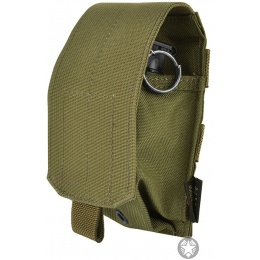 Flyye Industries MOLLE Flash Bang Grenade Pouch - RANGER GREEN