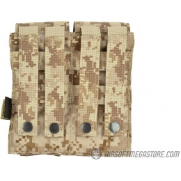 Flyye Industries MOLLE Double M4 Magazine Pouch - AOR1