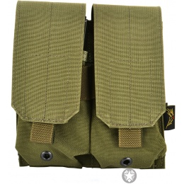 Flyye Industries MOLLE Double M4 Magazine Pouch - RANGER GREEN