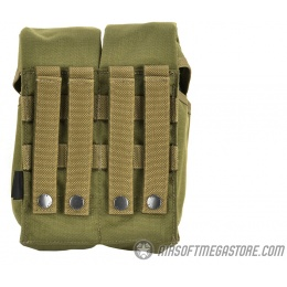 Flyye Industries MOLLE Double AK Magazine Pouch - RANGER GREEN