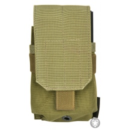 Flyye Industries 1000D MOLLE Single M14 Magazine Pouch - RANGER GREEN