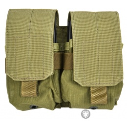 Flyye Industries 1000D MOLLE Double M14 Magazine Pouch - RANGER GREEN