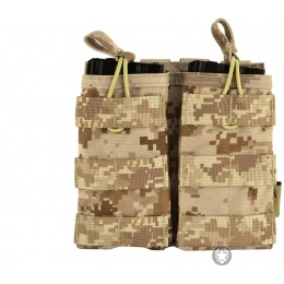 Flyye Industries 1000D MOLLE EV Double Magazine Pouch - AOR1