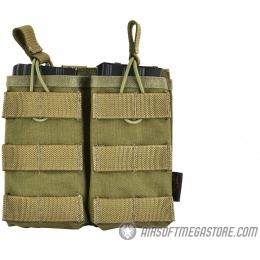 Flyye Industries 1000D EV Double Magazine Pouch - RANGER GREEN