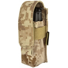 Flyye Industries MOLLE Single Pistol Magazine Pouch - AOR1