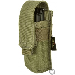 Flyye Industries MOLLE Single Pistol Magazine Pouch - RANGER GREEN
