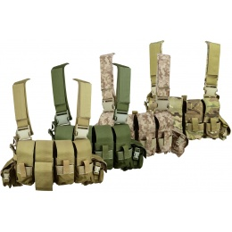 Flyye Industries MOLLE 1000D Tactical 1916A Band Chest Rig