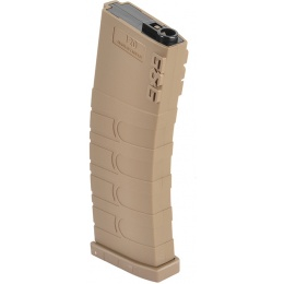 G&G GR16 / M4 Airsoft 5 Pack 120rd Mid-Capacity AEG Magazines - TAN