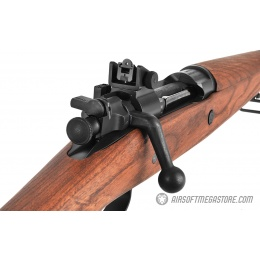 G&G GM1903 A3 Airsoft WWII Green Gas Bolt Action Rifle - REAL WOOD