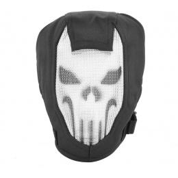 Black Bear Airsoft RAZOR Steel Mesh Full Face Airsoft Mask - PUNISHER