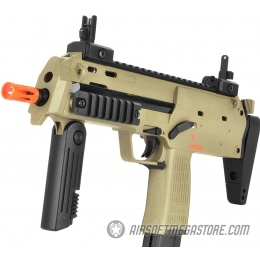 Elite Force KWA H&K MP7 Full Metal Gas Blowback GBB Airsoft SMG - TAN