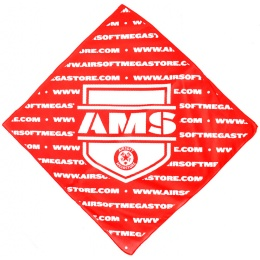 Airsoft Megastore Official Lightweight Dead Rag - RED
