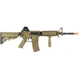 Bravo M4 RIS Full Metal Gearbox Polymer Airsoft AEG Rifle - TAN