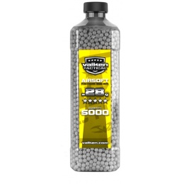 Valken Tactical 0.28g Seamless 6mm Airsoft BBs - 5000rd Bottle