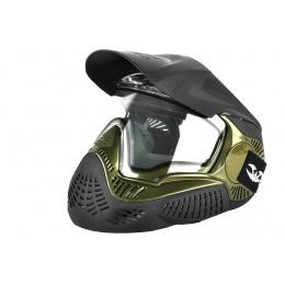 Valken Annex MI-9 Full Face Airsoft Mask w/ Visor - OLIVE
