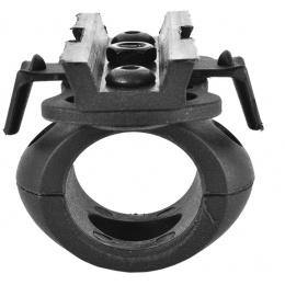 Valken Tactical Airsoft Helmet Swivel 20mm Flashlight Clamp - BLACK