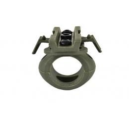 Valken Tactical Airsoft Helmet Swivel 20mm Flashlight Clamp - FOLIAGE
