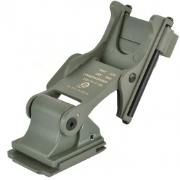 Valken Tactical MICH Type Full Metal Airsoft NVG Mount - GREEN
