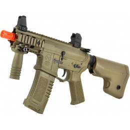ARES Amoeba M4 Stubby Combat Gear AM-007 CQB Airsoft AEG Rifle - TAN