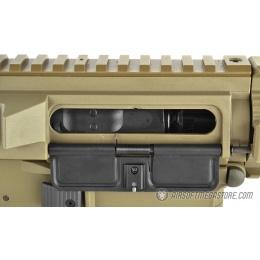 ARES Amoeba M4 Stubby Combat Gear AM-007 CQB Airsoft AEG Rifle - TAN
