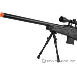 WellFire MB4408D MK96 Covert Airsoft Sniper Rifle w/ Scope & Bipod