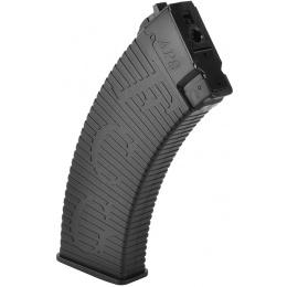 APS 500rd High Capacity AK47 / AK74 Airsoft AEG Magazine - BLACK