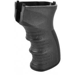 APS Airsoft AK AEG Series Ergonomic AK47 Pistol Motor Grip - BLACK
