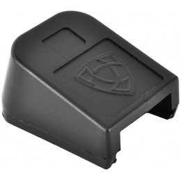 APS Airsoft CO2 Magazine Base Cover ACP Pistol Floor Plate - BLACK
