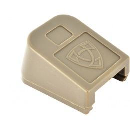 APS Airsoft CO2 Magazine Base Cover ACP Pistol Floor Plate - TAN
