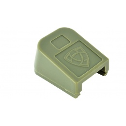 APS Airsoft CO2 Magazine Base Cover ACP Pistol Floor Plate - OD GREEN