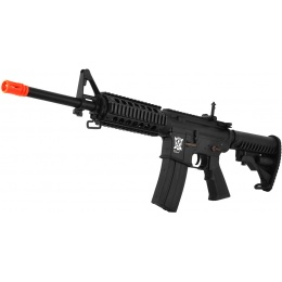 APS Kompetitor PR Series M4 RIS Electric Blowback Airsoft AEG - BLACK