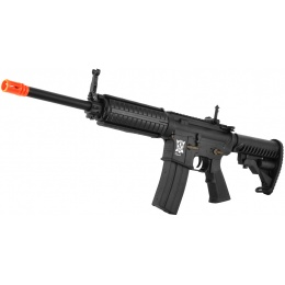 APS Kompetitor C33 Style M4 CQB Electric Blowback Airsoft AEG - BLACK