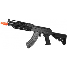E&L Full Metal A110-C PMC-C AK47 RAS Airsoft AEG Rifle - BLACK