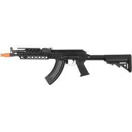 E&L Full Metal A110-C PMC-C AK47 RAS Airsoft AEG Rifle - BLACK