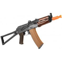 E&L Airsoft AK74U A104 AEG Steel Airsoft Rifle w/ Wood Handguard