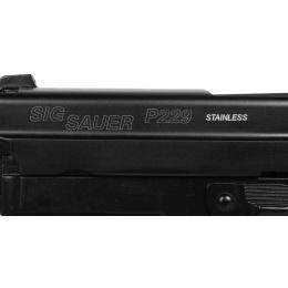 KJW Licensed Sig Sauer P229 Full Metal Airsoft Gas Blowback Pistol