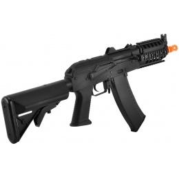 CYMA Full Metal AKS-74UN PDW RIS Airsoft AEG CQB Rifle - Black