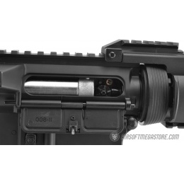 CYMA AM012 M4 RAS II CQBR Full Metal Gearbox Airsoft AEG Rifle - BLACK