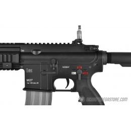 H&K Licensed Elite Force M27 IAR Airsoft AEG Rifle - BLACK
