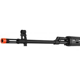 King Arms Licensed Kalashnikov SVD CO2 Airsoft Sniper Rifle - BLACK